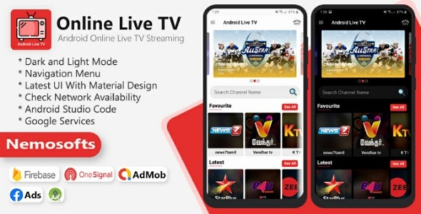 Download Android Online Live TV Streaming 4 September 2020 Free / Nulled