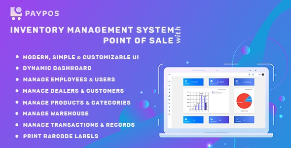Download Pay POS v1.0 - Sales and Inventory Management System Free / Nulled