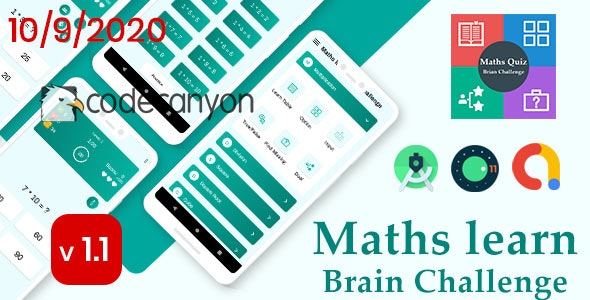 Download Ultimate Maths Quiz v1.0 - Brain Challenge with admob ready to publish Free / Nulled