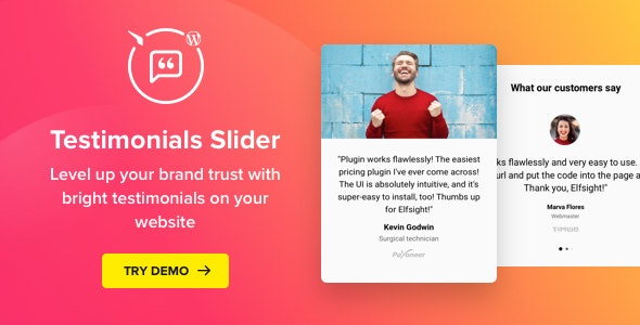 Download Testimonials Slider v1.5.0 - WordPress Testimonials Plugin Free / Nulled