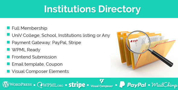 Download Institutions Directory v1.2.4 Free / Nulled