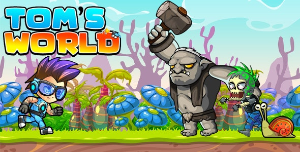 Download Super Jungle Adventure Tom World Full Unity Game v1.0 Free / Nulled