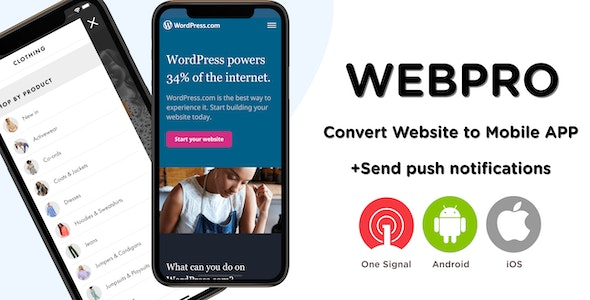 Download WEBPRO v1.0 - Universal WebView Configurable React Native Mobile Application Free / Nulled
