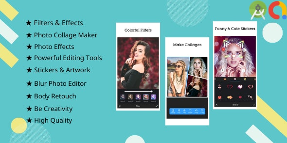 Download Picee v1.0 - Photo Editor, Collage Maker Free / Nulled