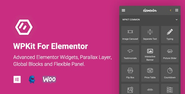 Download WPKit For Elementor v1.0.5 - Advanced Elementor Widgets Collection & Parallax Layer Free / Nulled