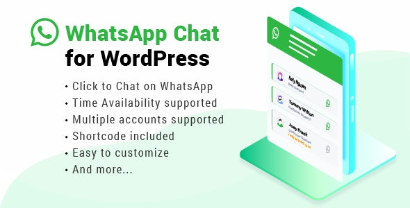 Download WhatsApp Chat WordPress v2.5 Free / Nulled