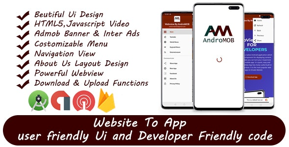 Download Super Universal Webview Android App With Admob v1.3 Free / Nulled