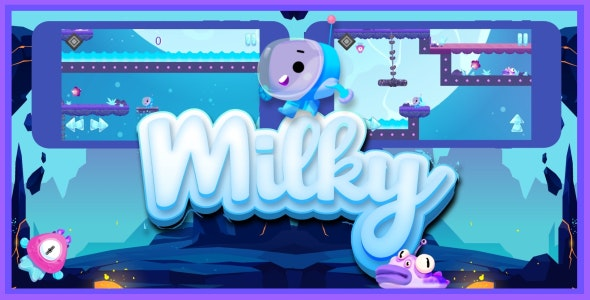 Download Milky v1.0 - iOS game Free / Nulled