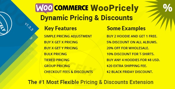 Download WooPricely v1.3.3 - Dynamic Pricing & Discounts Free / Nulled