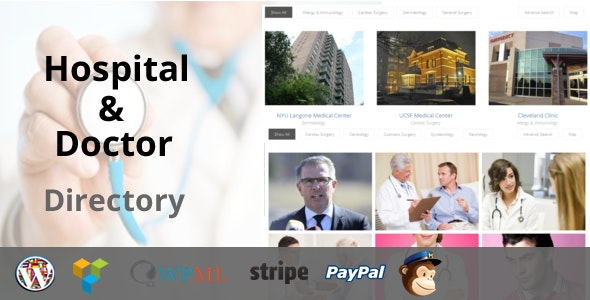 Download Hospital & Doctor Directory v1.2.9 Free / Nulled