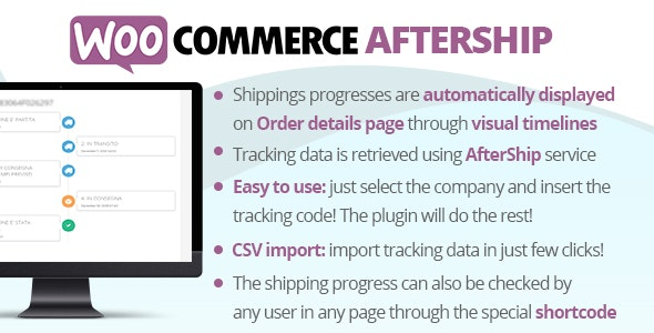 Download WooCommerce AfterShip v7.2 Free / Nulled