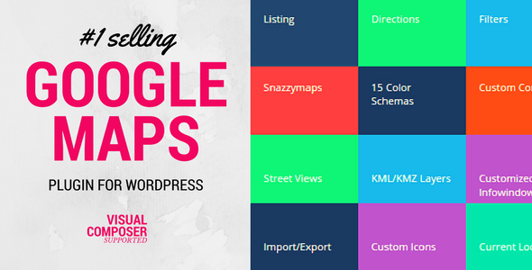 Download Advanced Google Maps Plugin for Wordpress v5.2.6 - Free / Nulled