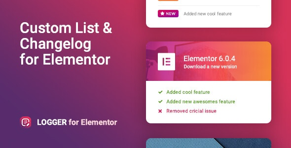Download Logger v1.0.4 - Changelog & Custom List for Elementor Free / Nulled