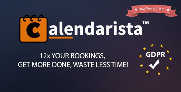 Download Calendarista Premium v9.8 - WP Appointment Booking Plugin and Schedule System Free / Nulled