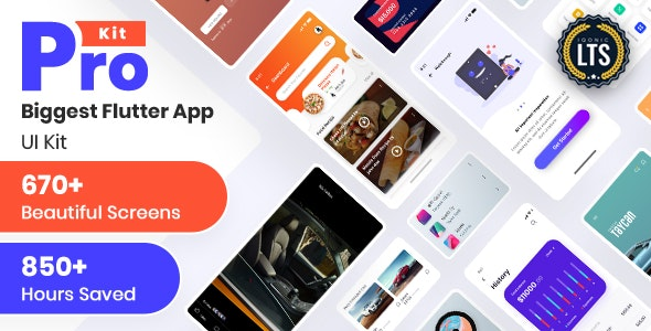Download Prokit v10.0 - Biggest Flutter UI Kit Free / Nulled