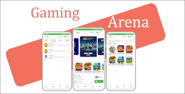 Download Gaming Arena v1.0 - gaming fantasy tournament app (MPL clone) Free / Nulled