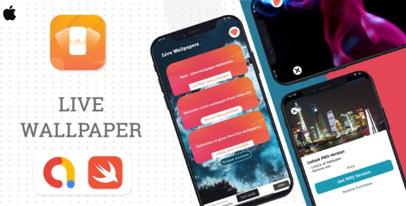 Download iLive Wallpaper v1.0 Free / Nulled
