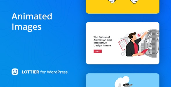 Download Lottier v1.0.0 - Lottie Animated Images for WordPress Editor Free / Nulled