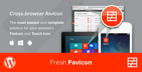 Download Fresh Favicon v1.1.2 - WordPress Plugin Free / Nulled