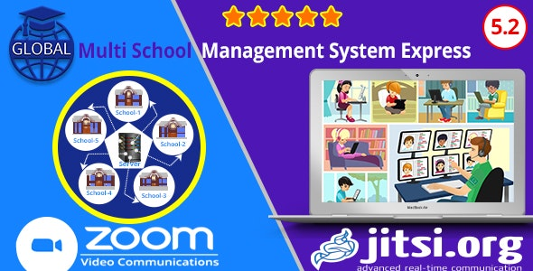 Download Global v5.2 - Multi School Management System Express Free / Nulled