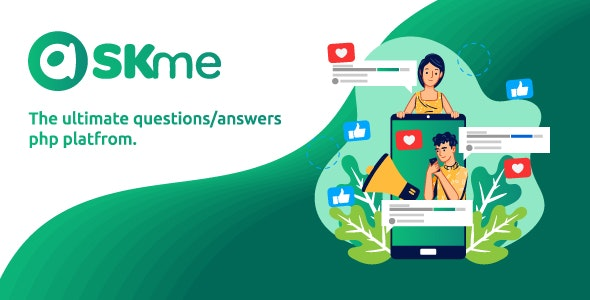 Download AskMe v1.1 - The Ultimate PHP Questions & Answers Social Network Platform Free / Nulled
