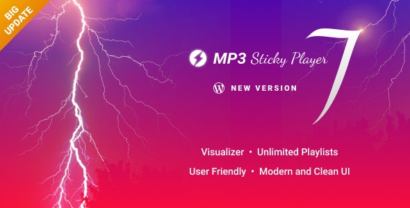 Download MP3 Sticky Player v7.1 - Wordpress Plugin Free / Nulled