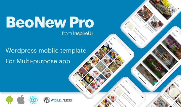 Download BeoNews Pro v4.0 - React Native mobile app for Wordpress Free / Nulled
