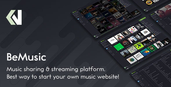 Download BeMusic v2.4.8 - Music Streaming Engine Free / Nulled