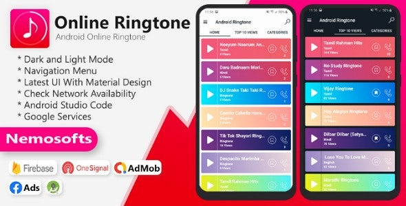 Download Android Online Ringtone v2.0.0 Free / Nulled