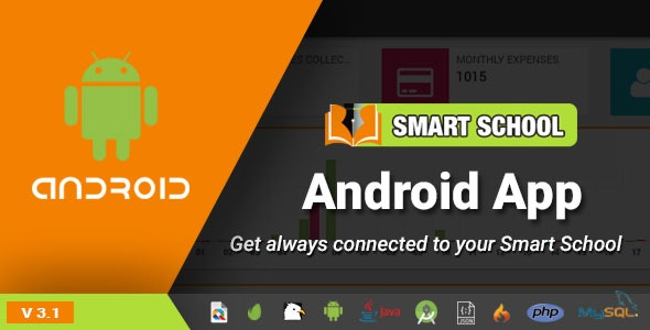Download Smart School Android App v3.1 - Mobile Application for Smart School Free / Nulled