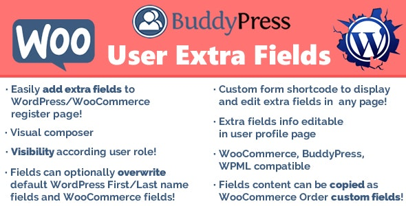 Download User Extra Fields v15.1 Free / Nulled