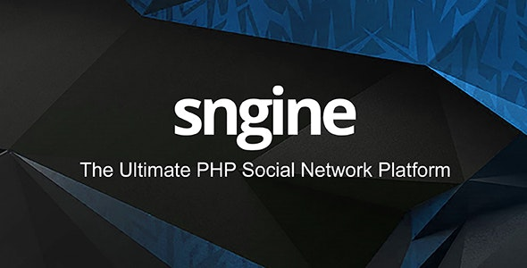 Download Sngine v2.9 - The Ultimate PHP Social Network Platform Free / Nulled