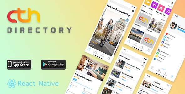 Download CTH Directory v1.3.2 - React Native mobile apps Free / Nulled