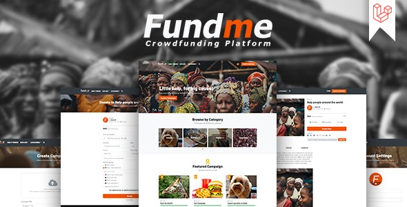 Download Fundme v4.0 - Crowdfunding Platform Free / Nulled