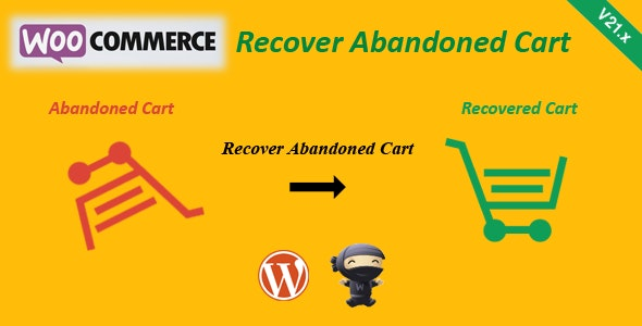 Download WooCommerce Recover Abandoned Cart v22.5 Free / Nulled