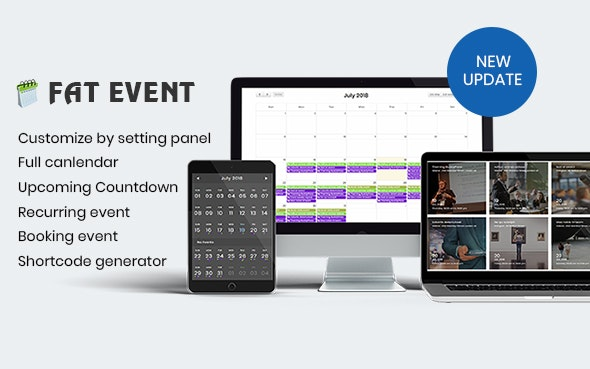 Download FAT Event v4.4 - WordPress Event and Calendar Booking Free / Nulled
