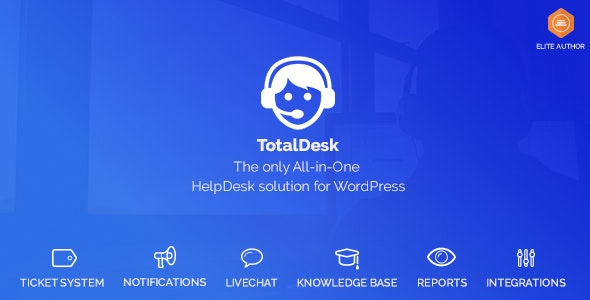 Download TotalDesk v1.7.9 - Helpdesk, Knowledge Base & Ticket System Free / Nulled