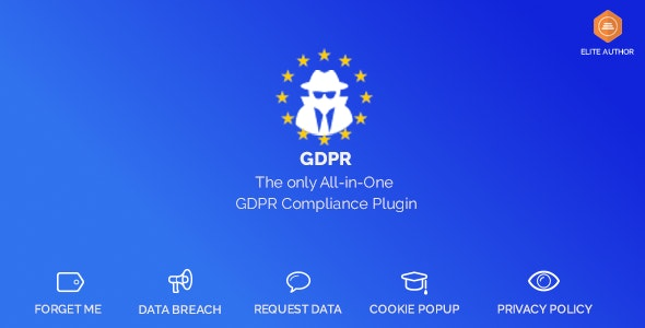 Download WordPress GDPR v1.9.8 Free / Nulled