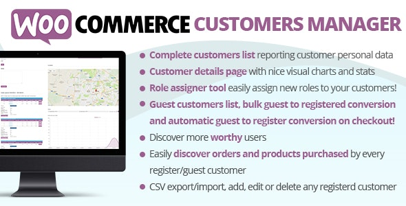 Download WooCommerce Customers Manager v26.0 Free / Nulled