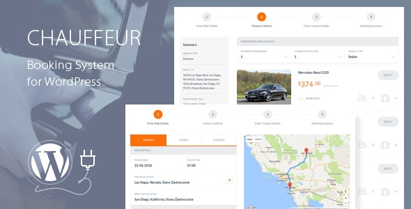 Download Chauffeur v5.4 - Booking System for WordPress Free / Nulled