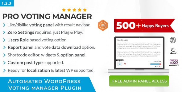 Download BWL Pro Voting Manager v1.2.3 Free / Nulled