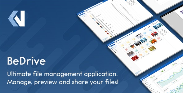 Download BeDrive v2.2.2 - File Sharing and Cloud Storage Free / Nulled