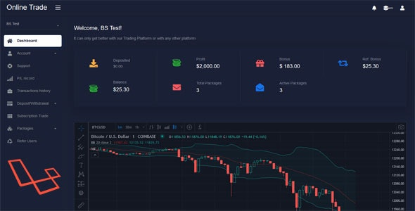 Download Online Trader - Trading and investment management system (25-08-2020) Free / Nulled