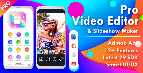 Download Pro Video Editor & Photo Video Maker for Android v2.0 Free / Nulled