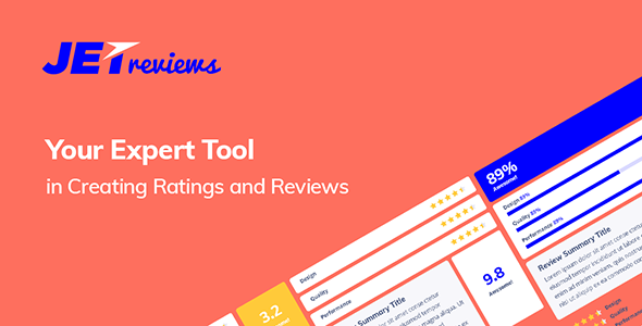 Download JetReviews v2.0.2 - Reviews Widget for Elementor Free / Nulled