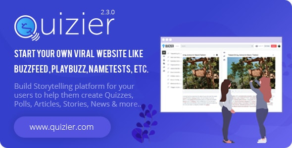 Download Quizier v2.0.0 - Multipurpose Viral Application Free / Nulled