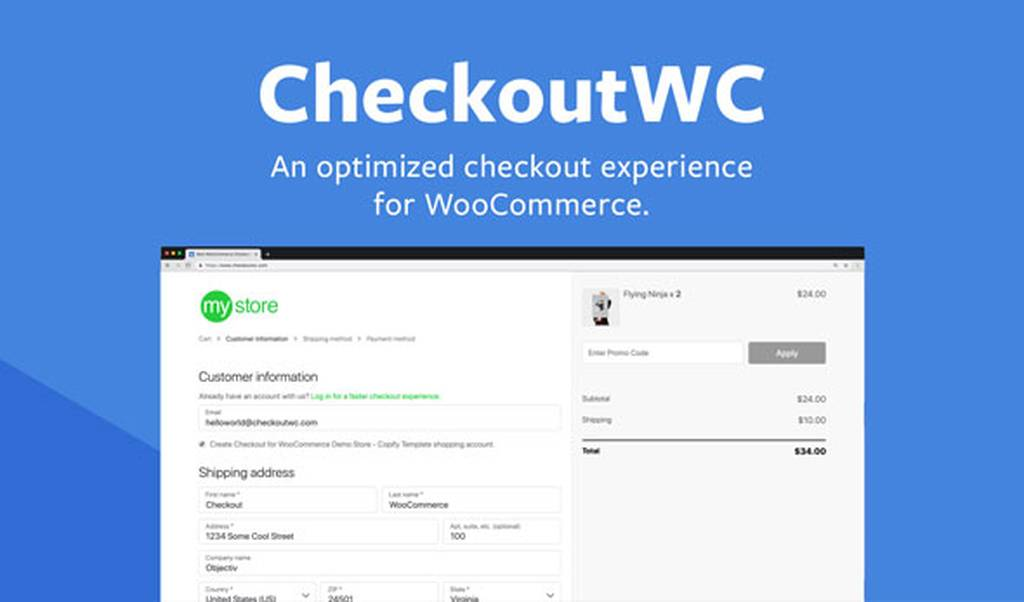 Download CheckoutWC v3.12.0 - Optimized Checkout Page for WooCommerce Free / Nulled