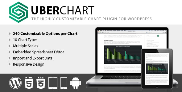 Download UberChart v1.21 - WordPress Chart Plugin Free / Nulled