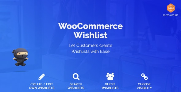 Download WooCommerce Wishlist v1.1.4 Free / Nulled