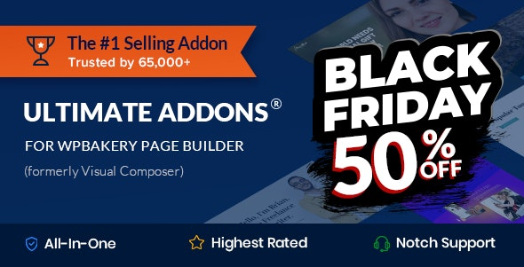Download Ultimate Addons for WPBakery Page Builder v3.19.7 Free / Nulled